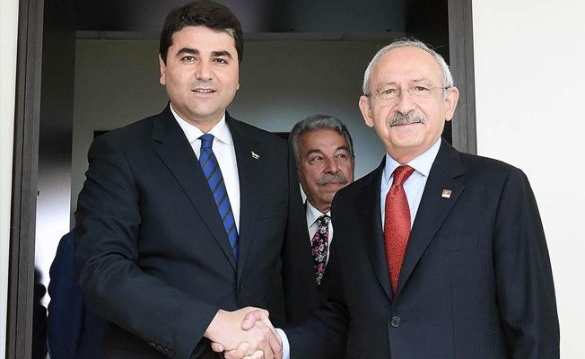 Kılıçdaroğlu'ndan Demokrat Parti'ye ziyaret