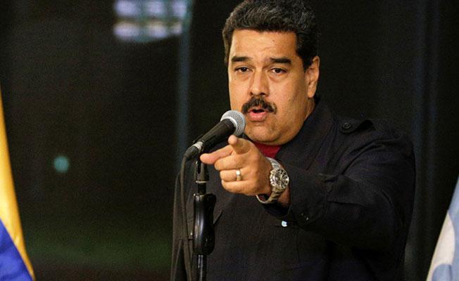 Maduro'dan, Trump'a: Çek o pis ellerini buradan