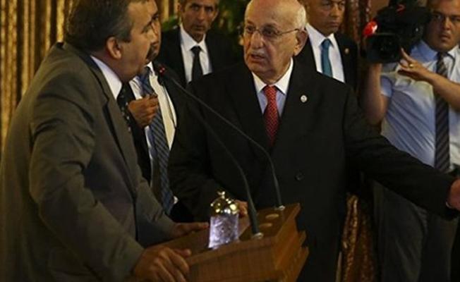 Meclis Başkanı Kahraman'dan, HDP'li Sırrı Süreyya'ya engel