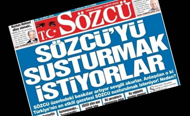 Sözcü'ye 'FETÖ' operasyonu: Gazetesi sahibi ve 3 yöneticisi hakkında gözaltı kararı