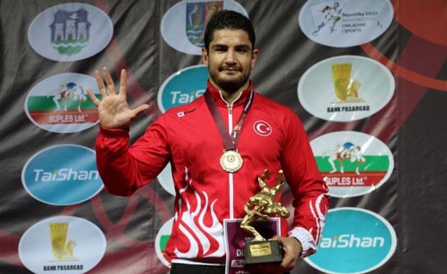 Taha Akgül Avrupa şampiyonu oldu