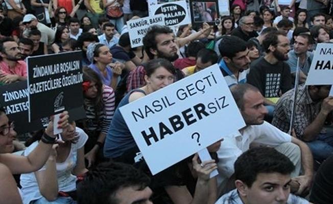 TGC'nin raporuna göre 159 gazeteci tutuklu