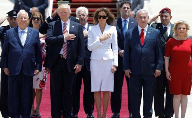 Trump İsrail'de: İran'ın nükleer silah sahibi olmasına asla izin verilmemeli