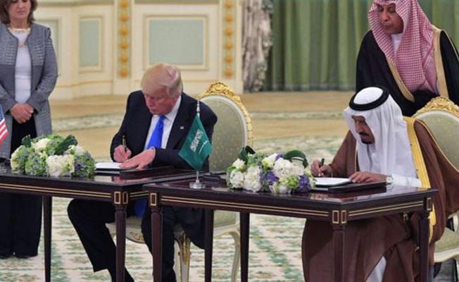 Trump'tan Suudi Arabistan'la milyar dolarlık silah anlaşması