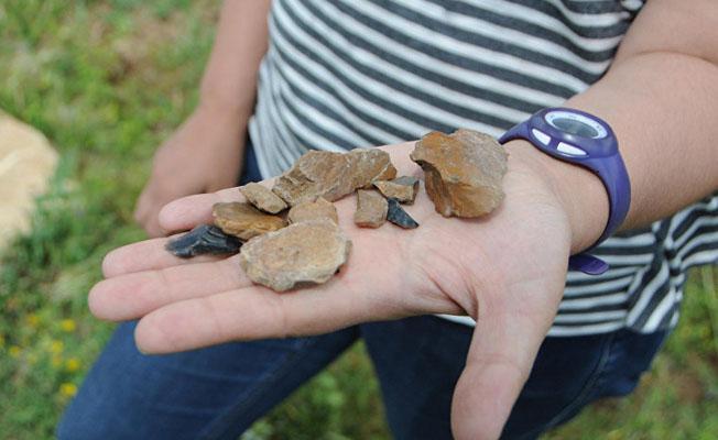 Dersim'de 1 milyon yıl öncesine ait taş aletler bulundu