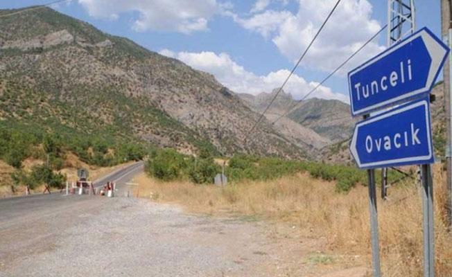 Dersim'de 31 bölgede yasak ilan edildi
