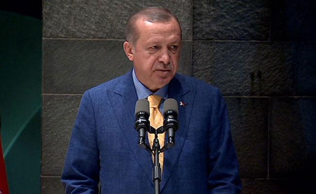 Erdoğan: CHP'nin yürüyüşü hükümetimizin bir inceliği, lütfudur
