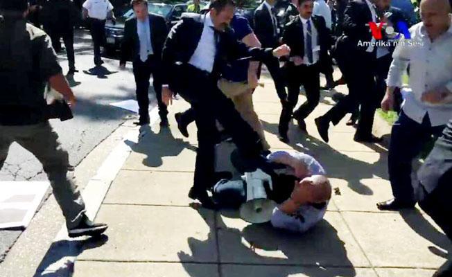 ABD'den Erdoğan'ın korumalarına: Gözdağı ve şiddete hoşgörü yok