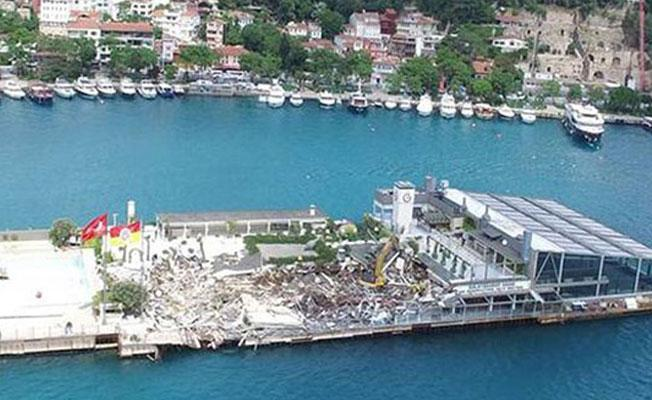 Galatasaray Adası'na 'cami yapılsın' teklifi