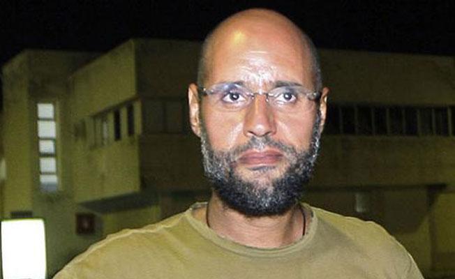 Kaddafi'nin idamla yargılanan oğlu serbest bırakıldı