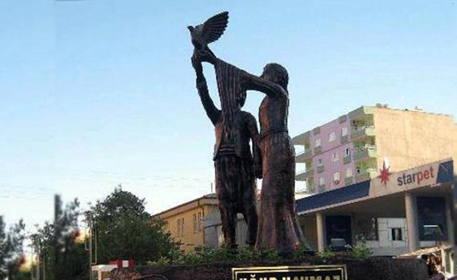 Kayyımın yıktırdığı Uğur Kaymaz heykeli Meclis gündeminde