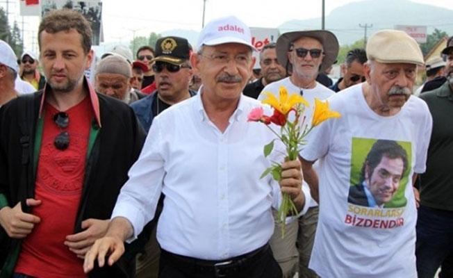 Kılıçdaroğlu'ndan 'Adalet Yürüyüşü' açıklaması
