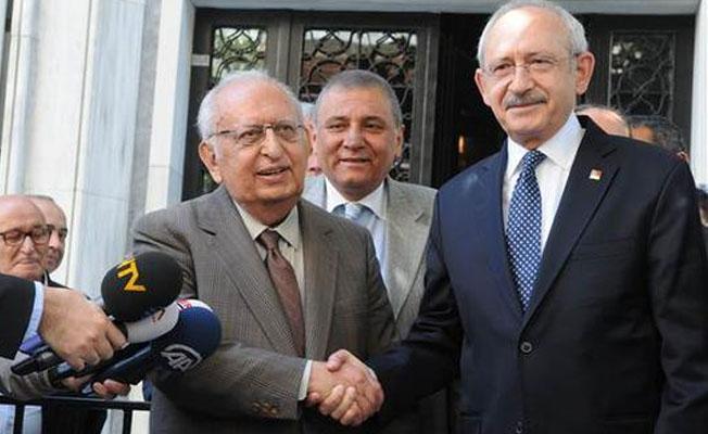 Kılıçdaroğlu,  TBMM eski Başkanı Cindoruk'u ziyaret etti