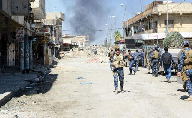 Musul'da bir semt daha IŞİD'den alındı