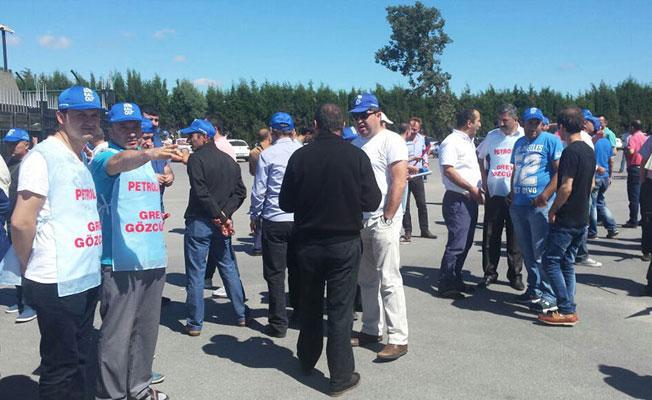 Mutlu Akü işçileri grevde