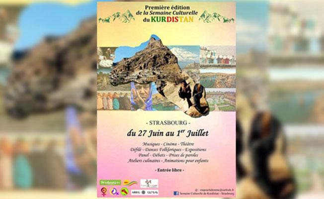 Strasbourg'daKürt Kültür Haftası düzenlenecek