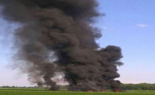 ABD'de askeri uçak düştü: 16 ölü