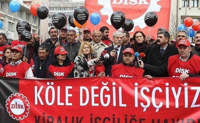 DİSK'ten 'Vicdan ve Adalet Nöbeti'ne destek