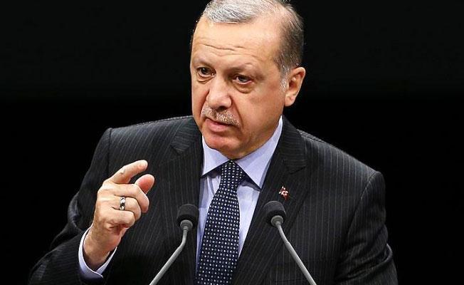 Erdoğan'dan Kılıçdaroğlu ve Ahmet Türk'e suçlama