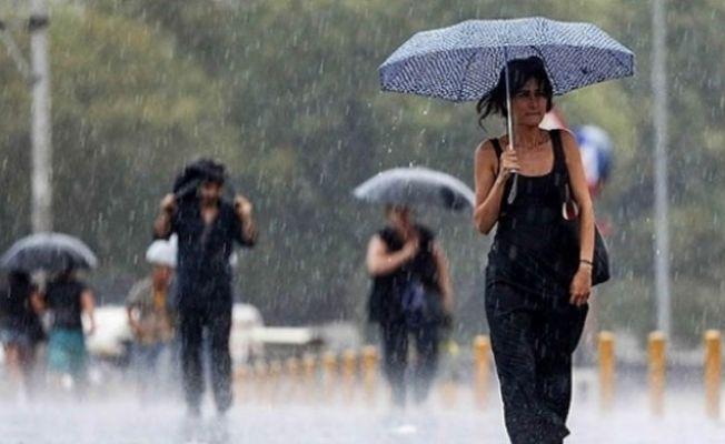İstanbul'a pazar günü yağmur geliyor