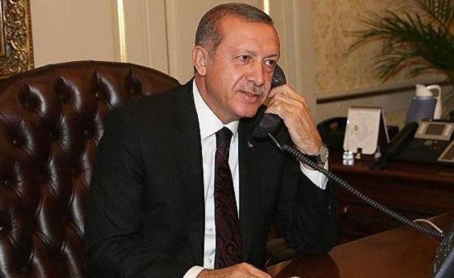 Telefonla konuşmak isteyenlere Erdoğan'ın ses kaydı dinletildi