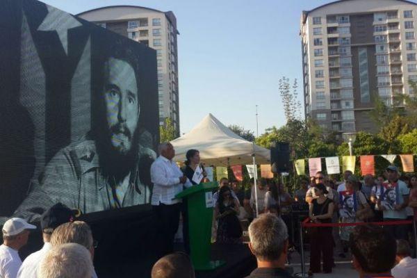 Ankara'da Fidel Castro parkı