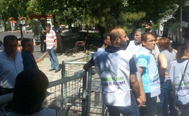 Ankara'da 'Vicdan ve Adalet Nöbeti'ne polis engeli
