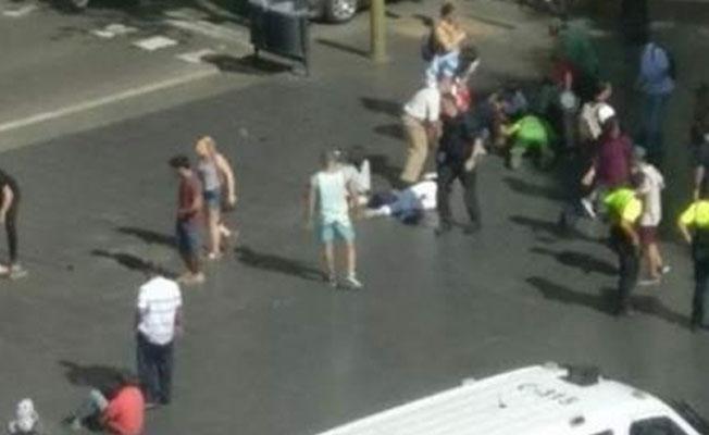 Barcelona'da saldırı: Çok sayıda ölü ve yaralı var