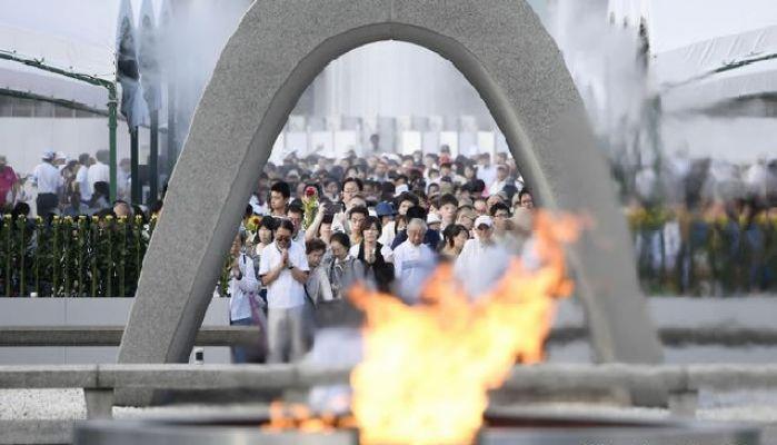 Hiroşima'da hayatını kaybedenler anıldı