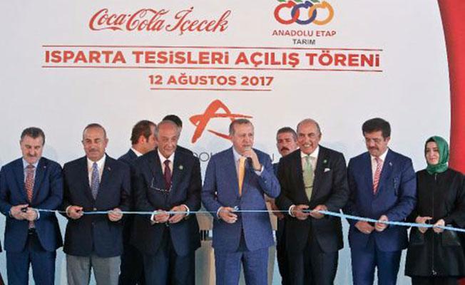 İktidara yakın medya 'Coca-Cola' açılışını görmedi