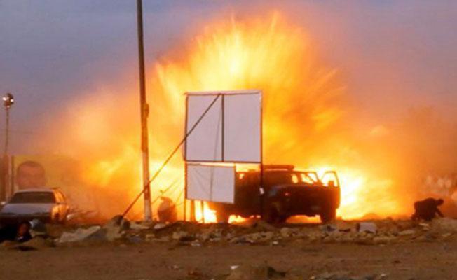 IŞİD'in bombalı aracı erken patladı: 17 IŞİD'li öldü