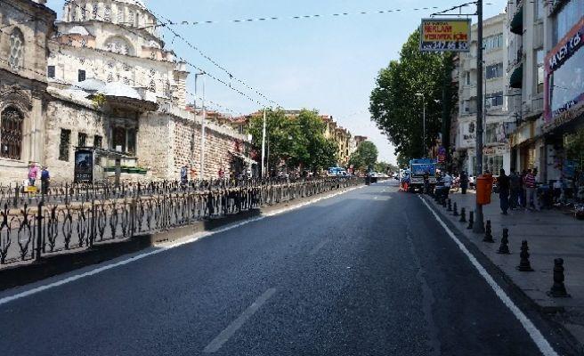 İstanbul'un tarihi caddesi artık sadece yayaların