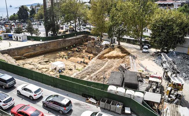 İstanbul'daki metro kazılarında tarih fışkırmaya devam ediyor