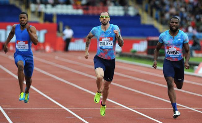 Ramil Guliyev, Diamond League 200 metrede birinci oldu