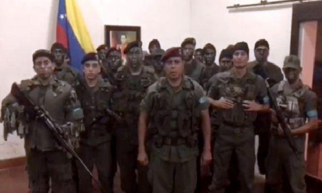 Venezuela'da ordu mensubu bir grup 'isyan' gerekçesiyle tutuklandı