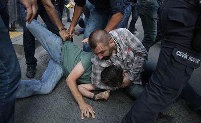 Yüksel'de yine sert müdahale: Polis, eylemcileri darp etti