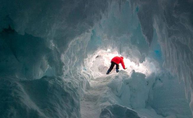 Antarktika'nın sıcak mağaralarında bilinmeyen canlılar yaşıyor olabilir