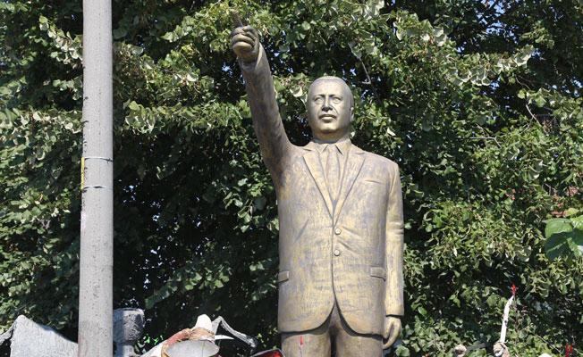 Erdoğan, heykellerinden rahatsız: Değerlerimize ters