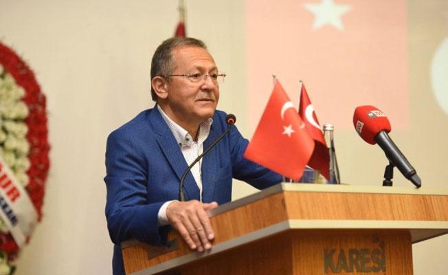 Balıkesir Belediye Başkanı Edip Uğur: İstifa yok