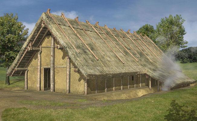 Danimarka'da 45 metre uzunluğunda Neolitik ev keşfedildi