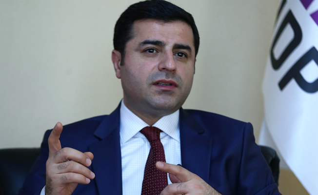 HDP'li vekillerden Adalet Bakanlığı'na Demirtaş tepkisi