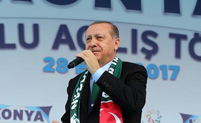 Erdoğan: Adeta birileri kudurmuş durumda
