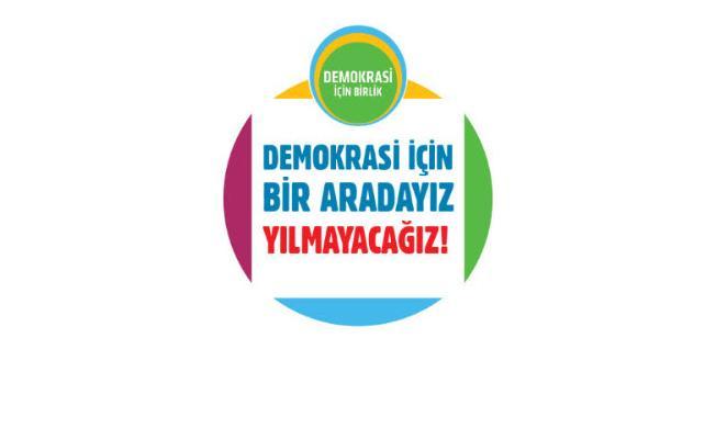 """İstanbul'da """"Demokrasi İçin Birlik Forumu"""" düzenleniyor"""