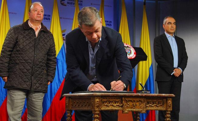 Kolombiya ELN ile de ateşkes imzaladı
