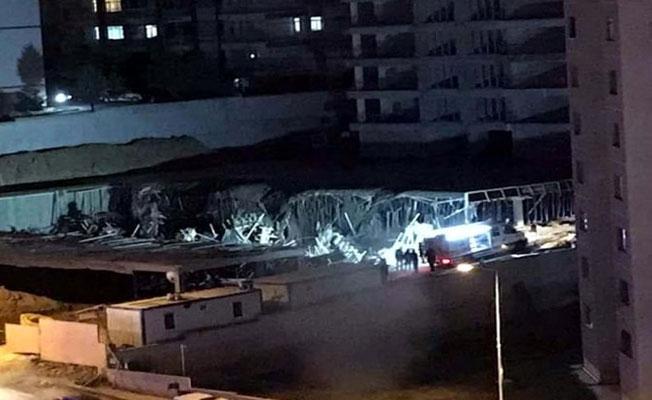 Ankara'da inşaatta göçük