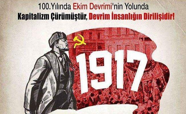 Ankara'da Ekim Devrimi sempozyumu düzenleniyor