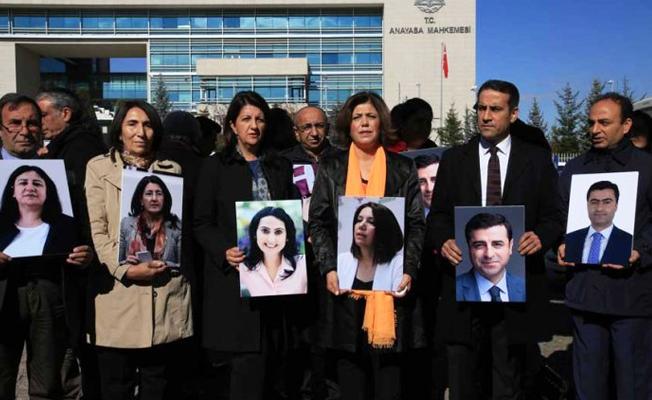 HDP'li tutuklu vekillerden 1 milyonluk tazminat davası