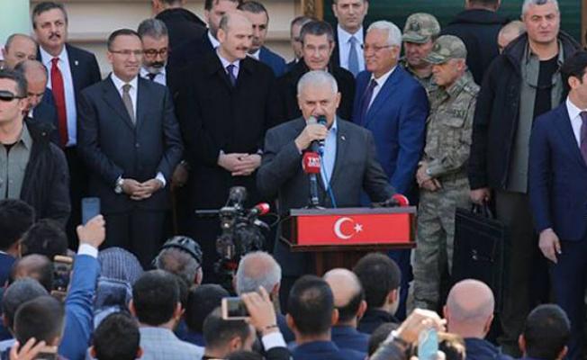 Başbakan Hakkari ve Şırnak'ta konuştu: Bizi birbirimize bağlayan Rabia'dır