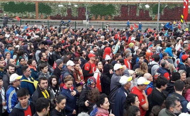 İstanbul Maratonu'nda 'Ali İsmail Korkmaz' müdahalesi