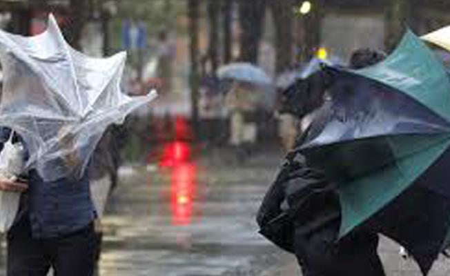 Meteoroloji'den yağış ve rüzgar uyarısı